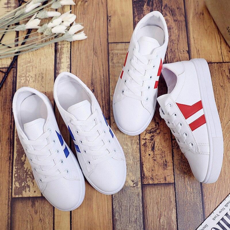5dfbb5b29 Nova Simples Moda vermelho Sólida Sapatos SelvagensAzul Baixos 2019 Mulheres  Das Primavera Confortáveis Cor Casuais Calçados nw0Nm8