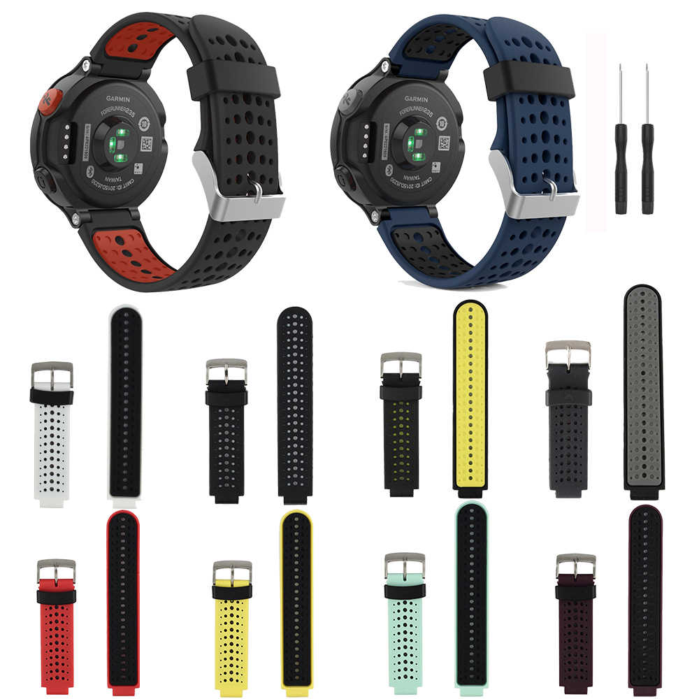 10 Pack For Garmin Forerunner 235 Bands Smart Watch Straps Replacement Band  For Garmin Forerunner 220/230/235/620/630/735XT