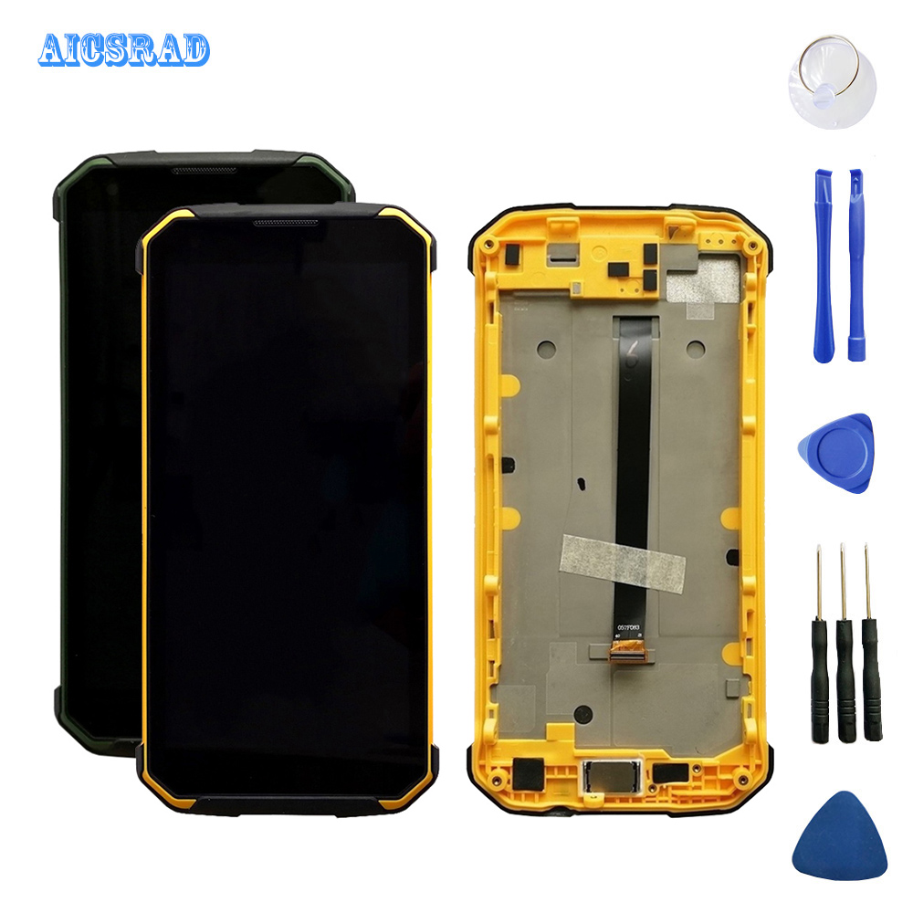 AICSRAD For Blackview BV9500 BV9500 Pro LCD Display Touch Screen Assembly Replacement bv 9500 Tools