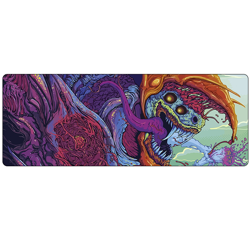 Large CS GO Gaming mouse pad mat grande Hyper beast Howl M4A4 AWP CSGO 80*30cm gamer Mousepad game CS:GO gun mouse mat muismat  stitched edge rubber cs go large gaming mouse pad pc computer laptop mousepad for apple logo style print gamer speed mice mat