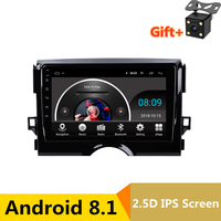 9 2.5D IPS Android 8.1 Car DVD Multimedia Player GPS For Toyota Reiz Mark x 2010 2011 2012 2017 audio radio stereo navigation