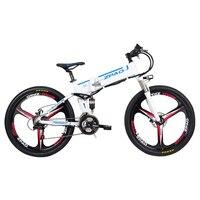 26 дюймов электрический горный biccycle складной велосипед Максимальная скорость 40 км/ч pas, фара для электровелосипеда в 350 Вт высокая скорость д
