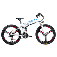 26 inch electric mountain biccycle fold bike top speed 40km/h pas ebike 350w high speed motor electric assist bike offroad bike