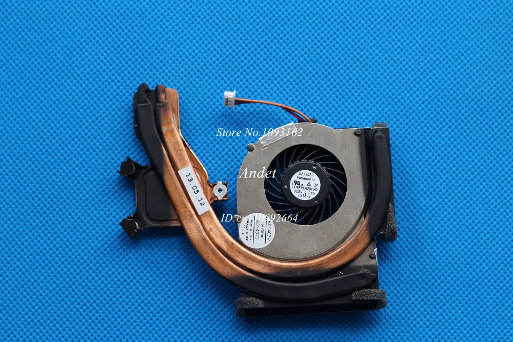 New Original for Lenovo ThinkPad T400S Heatsink CPU Cooler Cooling Fan 45N5610 45N5611 60Y4072 new original cooling fan for lenovo thinkpad x201t cooler radiator heatsink