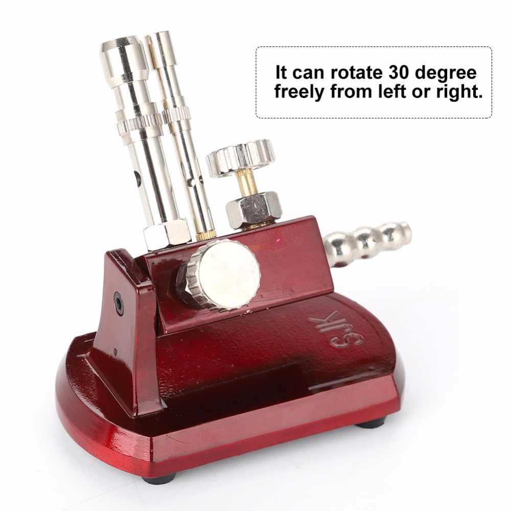 Микро Стоматологическая микро бансеновая горелка вращающаяся газовая пропановая горелка вращающаяся лабораторное оборудование световая лампа гигиена полости рта инструменты для ухода