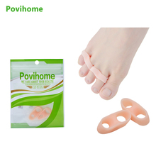 2 pcs. Foot Separator Tool Foot Care Gel Separators hallux valgus corrections Pro Stretcher Bone Finger  Protector Z57001