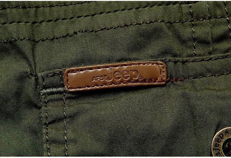 Plus Size xxxxxl Summer Men\'s 100% Cotton Shirts Solid Color Fitness Dress Short Sleeve Shirts Casual Outdoor Men AFS JEEP 5001 (11)