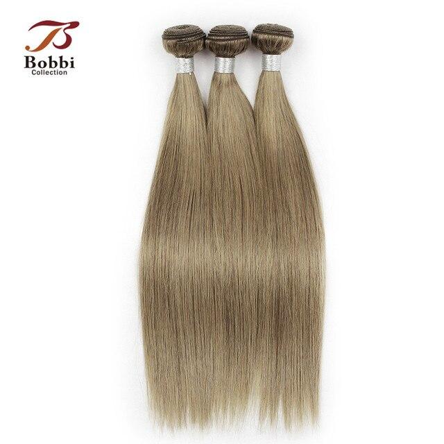 Bobbi Collection 23 Bundles Color 8 Light Brown Ash Blonde Indian