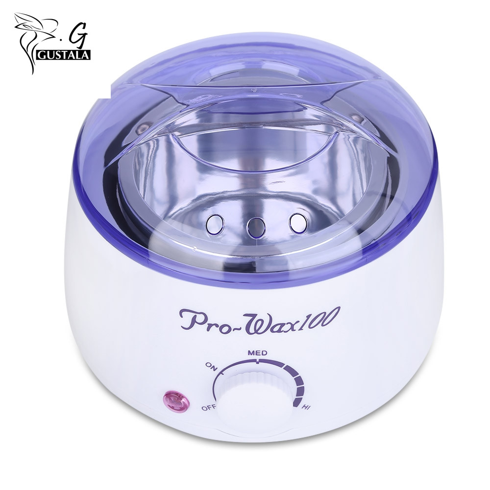 GUSTALA Mini Warmer Wax Heater SPA Hand Epilator Feet Paraffin Rechargeable Paraffin Heater Body Depilatory Hair Removal Tool цена