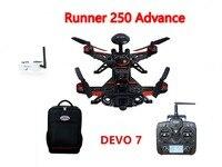 Walkera Runner 250 Advance GPS System Racer RC Drone Quadcopter RTF With DEVO 7 Transmitter OSD