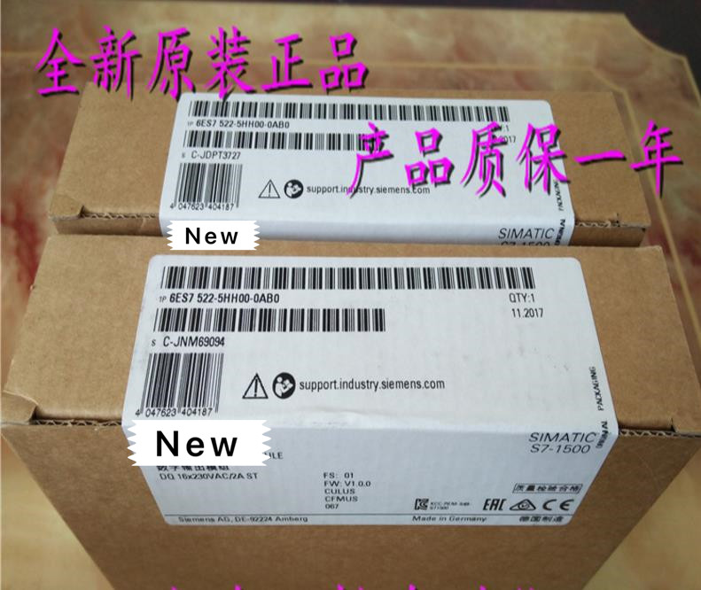 100%  Originla New  2 years warranty   S7 1500 PLC module 16 digital output module  6ES7522 5HH00 0AB0 Chargers     - title=