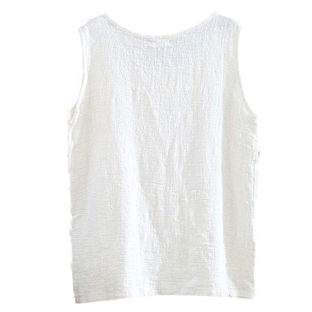 17 pieces Gordon Q Women's Casual Sleeveless Linen Tank Tops  Linen  Cotton