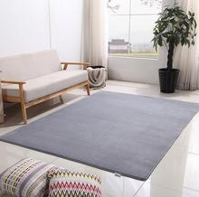 все цены на Large Size Coral velvet carpet for Living Room Bedroom kids rug home mat non-slip 80*160 100*160 sofa tea table mat Customizabl онлайн