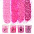 Azul 4 Colores Bling Del Polvo de Acrílico 10 ml Brillante Polvo Consejos De Arte Del Clavo Del Brillo Decoraciones Herramienta BG049-52