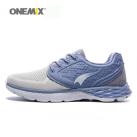 ONEMIX Men's Training Running Shoes Knitting Vamp Special Design Comfortable Lining Breathable Non Slip Sports Sneakers For Men