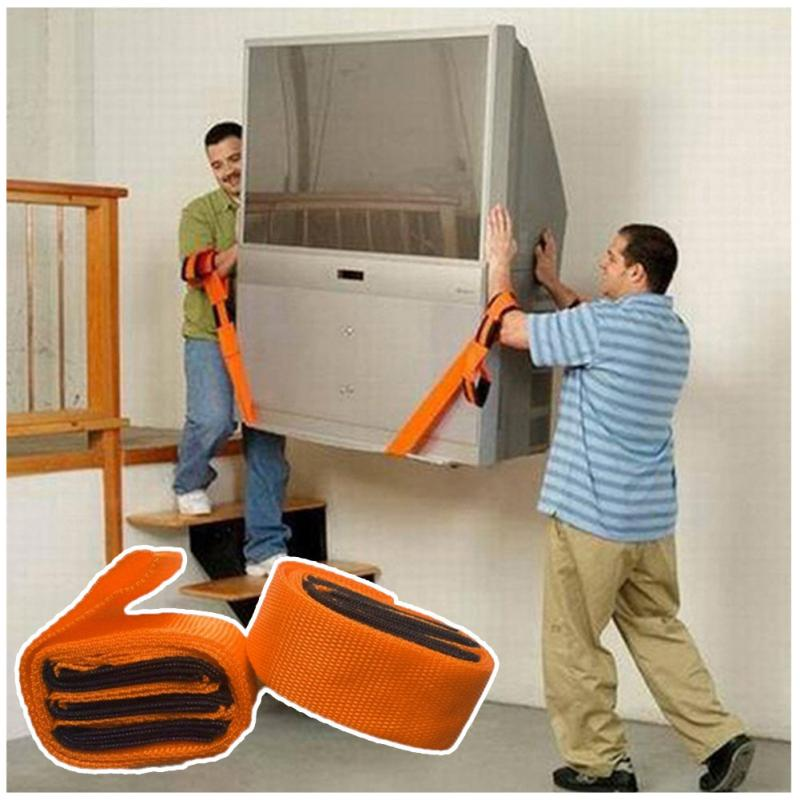 2pcs New Lifting Moving Strap Furniture Transport Belt In Wrist