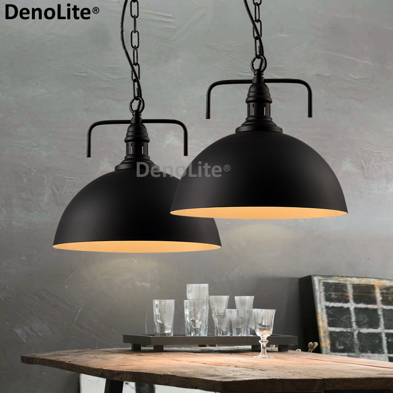 Custom Metal Retro Pendant Lamps For Restaurant Cafe Bar Clothing Store Bedroom Nordic Lampe suspension Indoor Résultat Supérieur 15 Superbe Lampe Suspension Metal Photos 2017 Iqt4