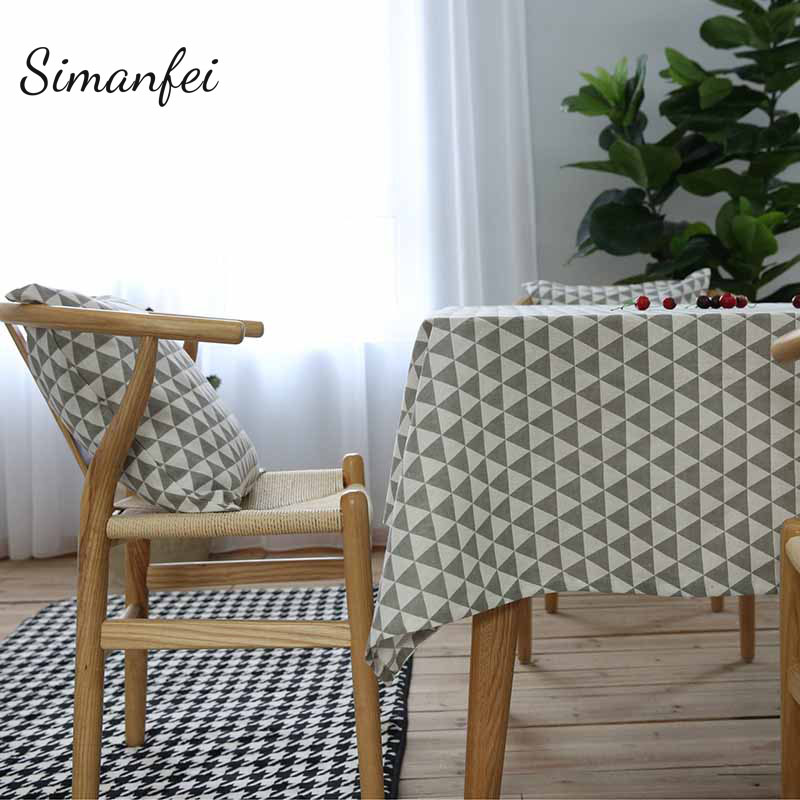 Amazing Simanfei TableCloth 2017 New Rural Style Simple Rectangular Pattern  Universal Table Cloths Decorative Table Cover Hot Sale Nice