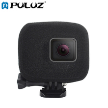 PULUZ Foam Windshield Housing Case  Cover Shell Cap for GoPro HERO7 Black /6 /5(Black)