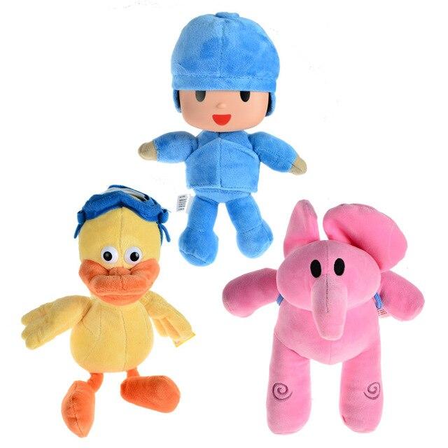 ОСГТ Pelucia Подарок для Детей Плюшевые Мультфильм Elly Pato Pocoyo Игрушки Куклы