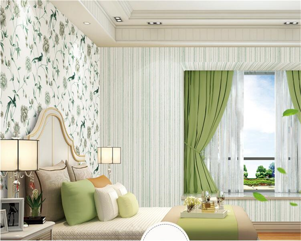 beibehang papel de parede Environmentally friendly non woven plain paper pastoral country retro series style hudas beauty in Wallpapers from Home Improvement