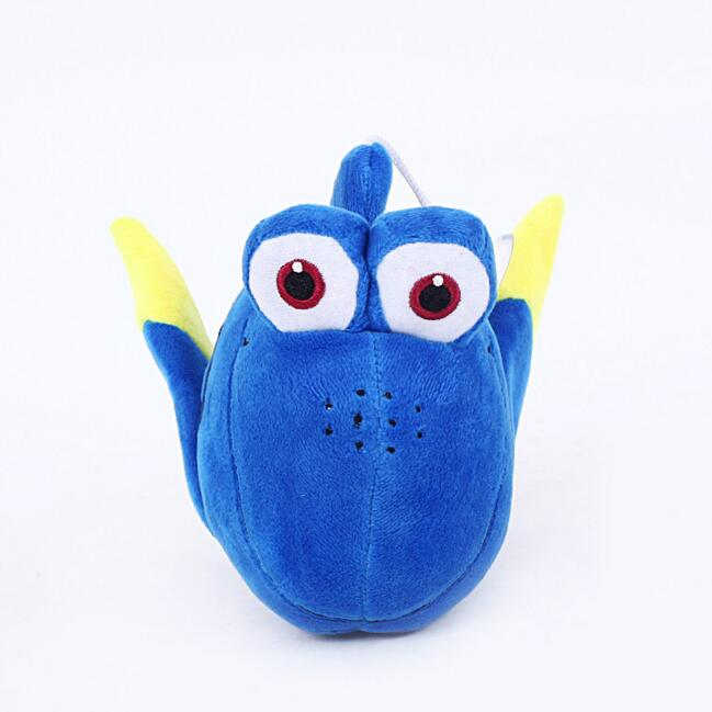 1pcs 20cm Finding Nemo Movie Stuffed Animal Soft Plush Toy Finding Dory Fish Blue Fish Plush Doll for baby gift stuffed animal 90 cm plush dolphin toy doll pink or blue colour great gift free shipping w166