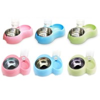 Dog Automatic Water Dispenser Feeder Utensils Bowl Cat Drinking Fountain Food Dish Pet Bowl