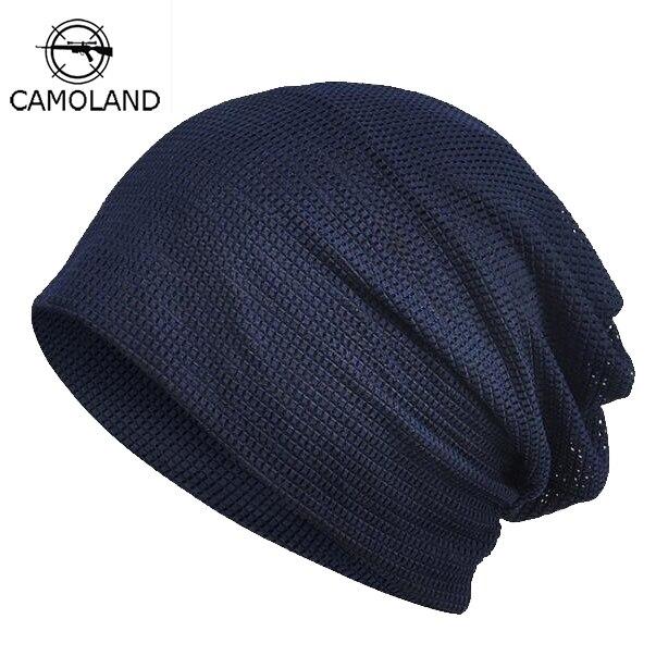 Мужская и Женская Повседневная легкая тонкая шапка на шлем, дышащая хлопковая маска для лица, весна-лето 2019