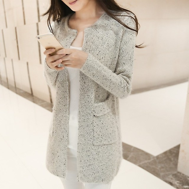 2016New arriver Winter Women Sweater Casual Long Sleeve Knitted Cardigans Autumn Crochet Ladies Sweaters Fashion Female Cardigan