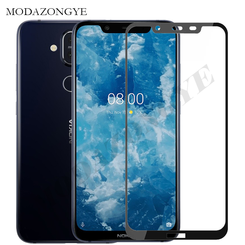 Tempered Glass For Nokia 8.1 Screen Protector Nokia 8.1 Screen Protector For Nokia 8.1 Nokia8.1 Phoenix TA-1119 TA-1128