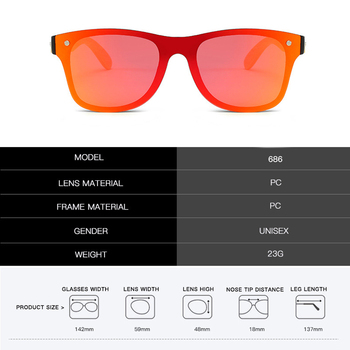 Creative bamboo wood frame goggles sunglasses 1