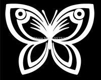 Wholesale 5pcs 10pcs 20pcs Lot Hot Sale Butterfly Car Sticker For Truck Window Bumper Auto SUV