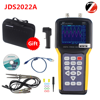 Portable oscilloscope Jinhan JDS2012A JDS2022A 20MHz Bandwidth 2 channel Handheld Digital Oscilloscope 200MSa s Sample Rate