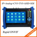 7 polegada Tester câmera IP Touch Screen 1080 P HDMI Tester CCTV POE teste / WIFI TVI / CVI / AHD Tester SDI Tester IPC-8600ADHS