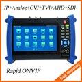 7 pulgadas cámara IP probador pantalla táctil de 1080 P HDMI CCTV Tester POE prueba prueba / WIFI TVI / CVI / AHD Tester SDI Tester IPC-8600ADHS