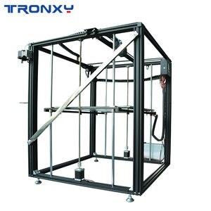 Image 3 - Tronxyビッグdiy 3Dプリンタサイクロプス2で1アウトダブルカラー押出機熱ベッドタッチスクリーン大サイズ500*500*600ミリメートルX5SA 500 2E