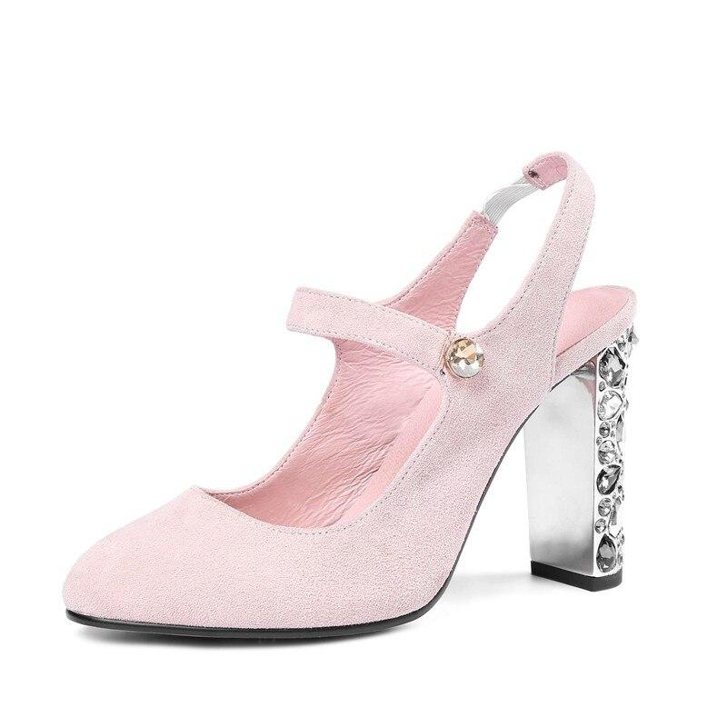 L78 Femmes Noir Brillant Lenkisen Cristaux Pointu Slingback Sandales rose Élastique De 2018 Talons Bande Bout Mariage Chaussures Haute Piste Parti Pop Zx0HUwZ