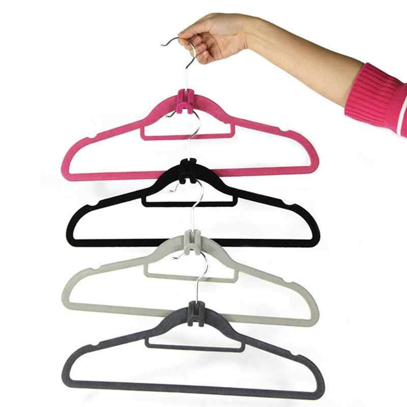 20Pcs Stable Hanger Connector Cascading Clothes Rack Hook for Chest Wardrobe