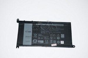 Image 2 - JIGU batterie dordinateur portable dorigine 3CRH3 WDX0R T2JX4 WDXOR pour DELL Inspiron 13 5000 5368 5378 7368 7368 14 7000 7560 7460 5567
