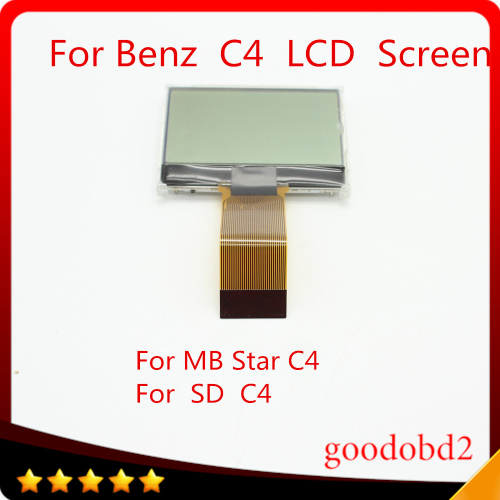 For Benz MB Star C4 SD Connect C4 LCD screen Support diagnostic tool SD Connect C4 Compact 4 LCD only lcd screen tool 38 pin main cable for mb star c4 c5 diagnosis sd connect for mercedes compact 4 5 super quality