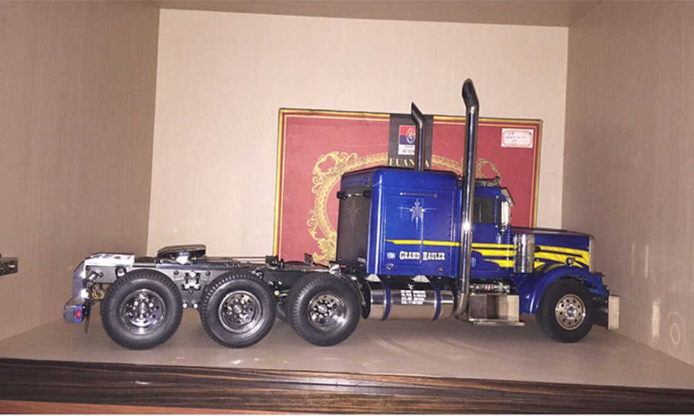 Plastik Elektroplating Hub Roda Perakitan untuk Tamiya 1/14 Skala Scania R620 Man Tgx Beenz 1851 3363 King Truk Traktor Trailer