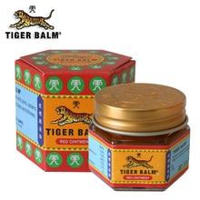 100% Original 19.4g สีแดง Tiger Balm Ointment ประเทศไทย Painkiller Ointment กล้ามเนื้อ Pain Relief Ointment ปลอบประโลม itch