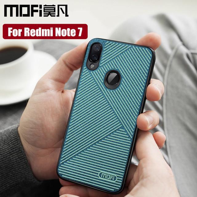 MOFi Redmi Note 7 7 Pro Luxury Liquid Silicone Design Shockproof Back Case Cover