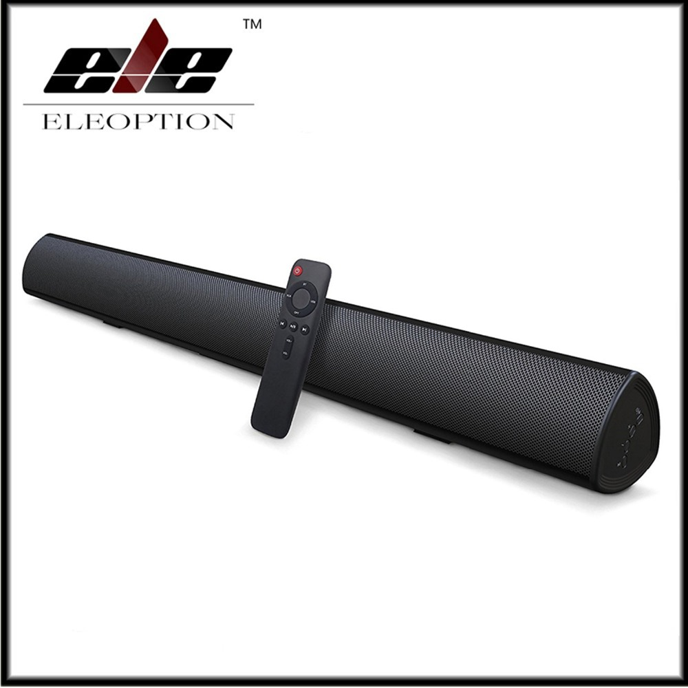 100 W système de son Home cinéma barre de son TV Bluetooth haut-parleur Support optique AUX coaxiaux TV barre de son et Subwoofer haut-parleur