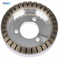HIGH QUALITY Segmented Diamond Abrasive Wheel 80 Grit, 150*15*10, Grinding wheel for glass machine