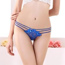 Sexy Women Thongs Panties Low Waist Transparent Bandage G String Intimates Women Lingerie Underwear Girl Thongs