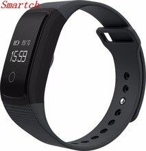 Smartch A09 умный Браслет Сенсорный экран наручные часы браслет Presión arterial сердечного ритма Мониторы шагомер Фитнес смарт-браслет