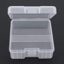Big Battery Storage Box AAA Battery Protector Case Accumulator Protective Holder Translucent for Containing 100pcs AAA Batteries