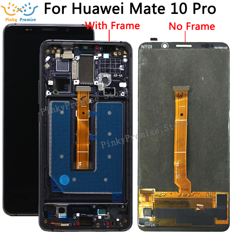 OLED 6.0 Repair for huawei mate 10 pro lcd screen digitizer display touch screen assembly with frame and tools