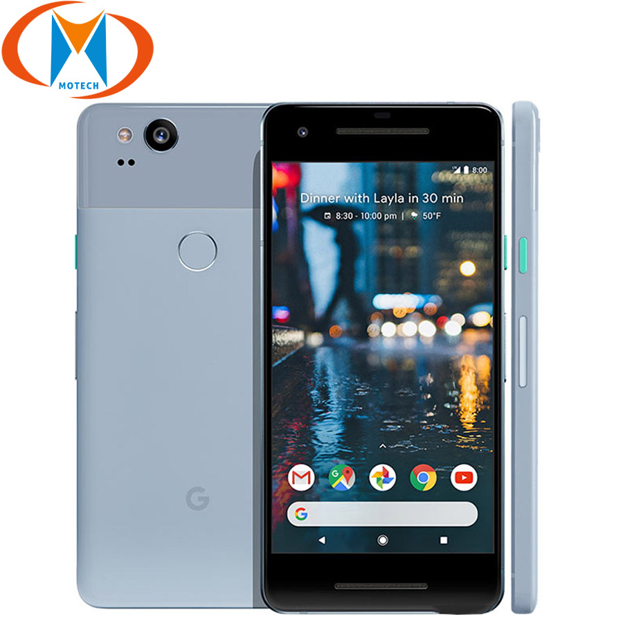 Original Google Pixel 2 Mobile phone 4GB 128GB US Version Snapdragon 835 Octa Core 4G LTE Brand New 5.0 inch Google Smart Phone